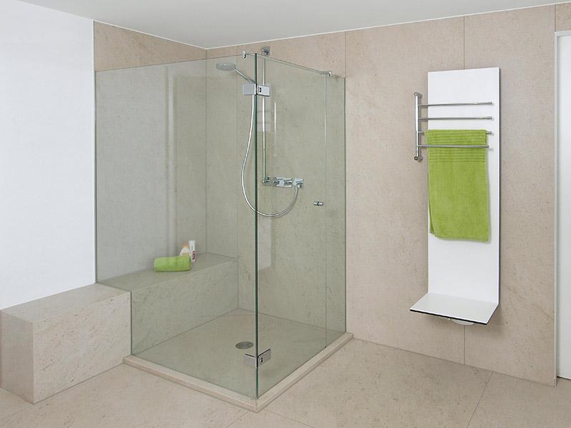 Badsanierung – Umbau auf barrierefreie Dusche